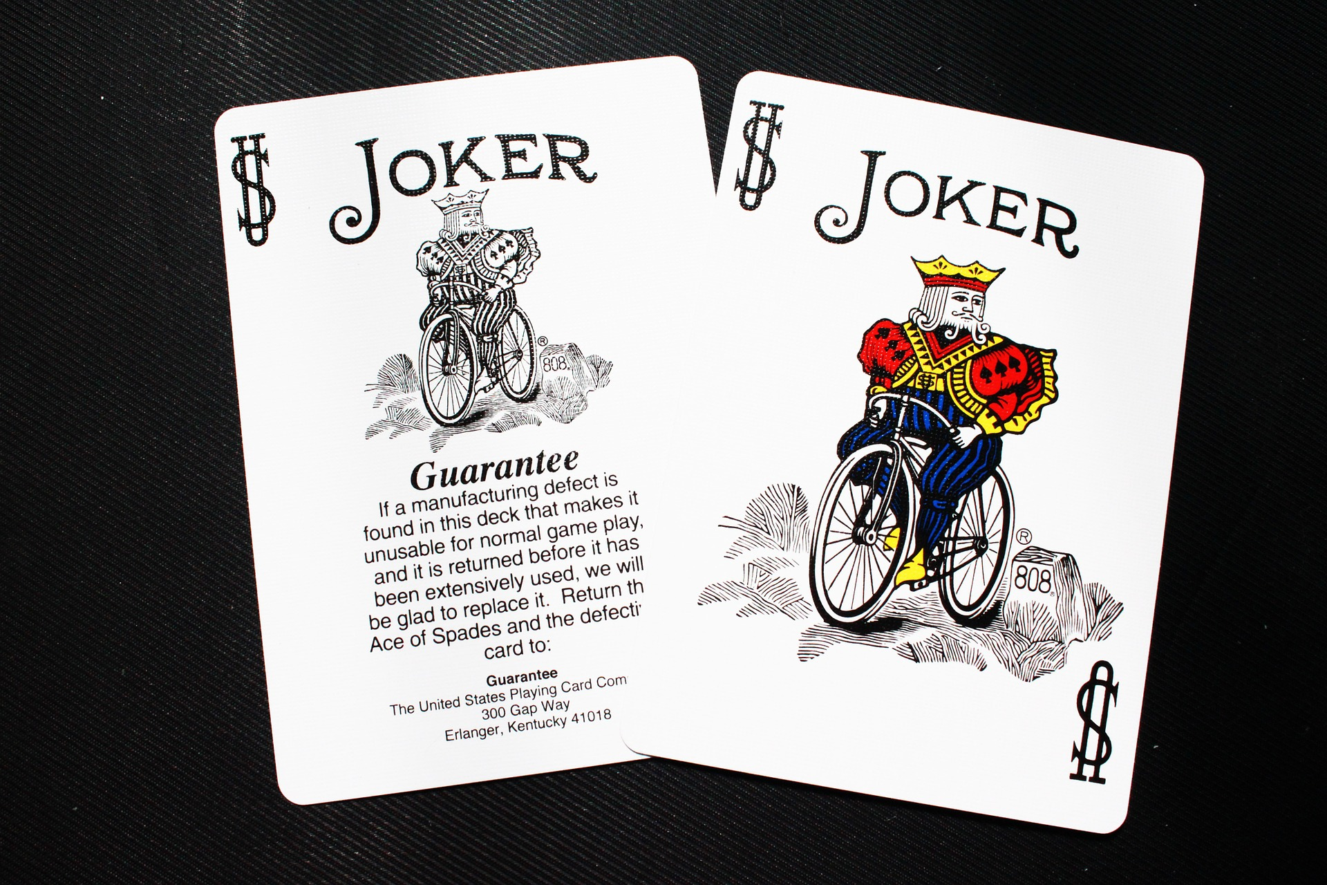 Two joker cards